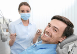 The patient inquires about the dental treatment necessary for his condition.
